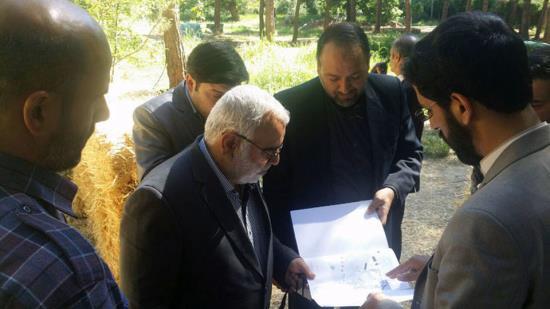 بازدید قائم مقام آستان قدس رضوی از اردوگاه امام رضا علیه السلام
